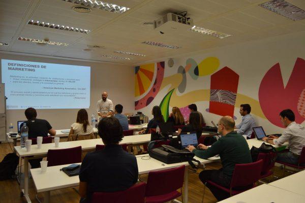 Clases de marketing digital Madrid