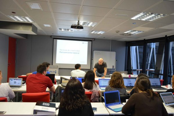 Clases con IM. Torre Europa Madrid.