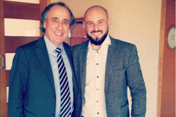 Compartiendo ponencias con Emilio Duró. Meliá Alicante.